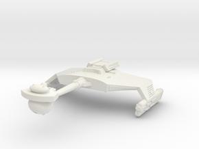3788 Scale Romulan KDR War Cruiser (Smooth) WEM in White Natural Versatile Plastic