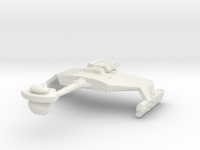 3125 Scale Romulan KDR War Cruiser WEM in White Natural Versatile Plastic