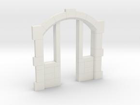Sandsteineinfassung für Tür/sandstone frame H0-TT in White Natural Versatile Plastic