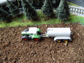 1:160/N-Scale Slurry Spreader in Smooth Fine Detail Plastic