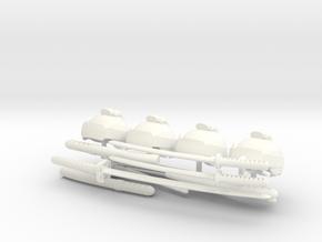 SAMURAI ACCESSORIES #2  in White Processed Versatile Plastic