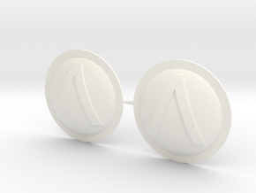 HOPLITE SHIELDS SPARTA X2  in White Processed Versatile Plastic