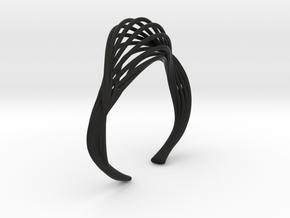 Liquid Tension* Bangle ( XS ) in Black Premium Versatile Plastic