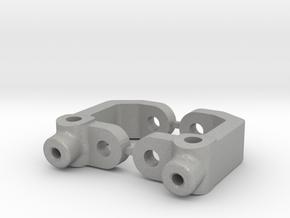 RC10B3 - 7.5 DEGRE - DIRT OVAL - CASTOR BLOCK in Aluminum