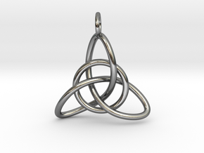 Celtic Knot in Polished Silver (Interlocking Parts)