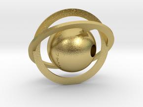 Stellar in Natural Brass