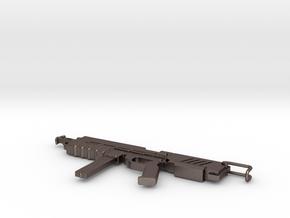 1/100 MMP-80 in Polished Bronzed Silver Steel