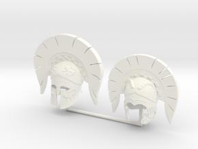 DIMITRIS 6  in White Processed Versatile Plastic