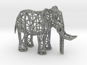 African Elephant (adult male) in Gray Professional Plastic