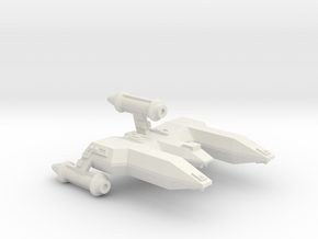 3125 Scale LDR War Destroyer Escort (DWE) CVN in White Natural Versatile Plastic