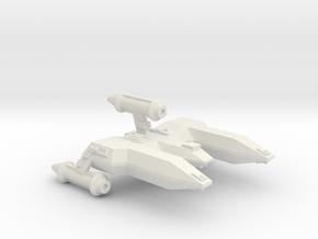 3125 Scale LDR War Destroyer Escort (DWE) CVN in White Natural Versatile Plastic
