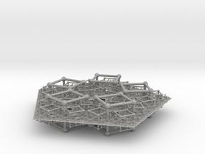 Polyfold Cubetube Fractal in Aluminum
