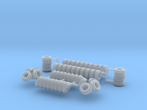 Tires N scale in Smooth Fine Detail Plastic
