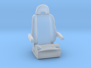 Printle Thing Plane seat - 1/35 in Smooth Fine Detail Plastic