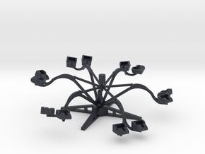 Eyerly Spider - 1:220 oder 1:160 in Black PA12: 1:220 - Z