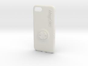 iPhone 8 Garmin Mount Case - 19mm in White Premium Versatile Plastic