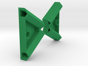 One Pair Pencil Spool Rack Connectors, for 8 inch  in Green Processed Versatile Plastic