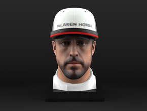 Fernando 1/8 Head Figure in Full Color Sandstone