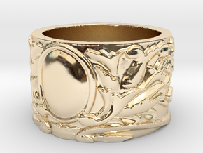 Old Fashioned  in 14k Gold Plated Brass: 4 / 46.5