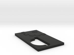 V3 Door 18650 in Black Natural Versatile Plastic