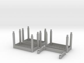Garage Shelves 3 tiers in Aluminum