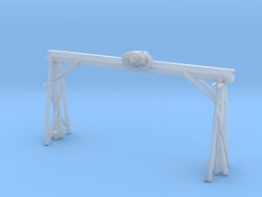 Railroad Overhead Crane in Smooth Fine Detail Plastic