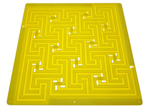 Andrea's Maze in White Natural Versatile Plastic