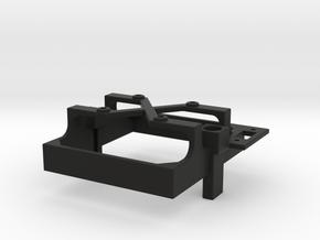 Mamba Monster X fan mount for 30 mm fan switch a in Black Premium Versatile Plastic