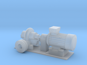 Centrifugal Pump #1 (Size 4) in Smooth Fine Detail Plastic