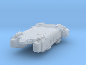 Robotech Macross ARMD carrier in Smooth Fine Detail Plastic