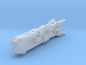 Robotech Macross Ikazuchi cruiser in Smooth Fine Detail Plastic