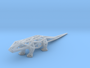 Lizard in Smooth Fine Detail Plastic