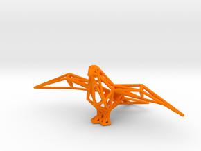 Pigeon in Orange Processed Versatile Plastic