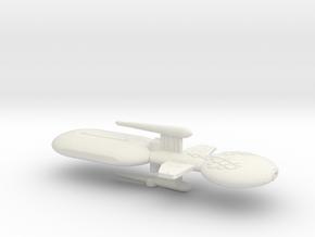 3125 Scale Gorn Brontosaurus+ Fleet Tug (1 Pod) SR in White Natural Versatile Plastic