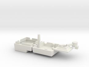 Joystick II 1:4 Scale in White Natural Versatile Plastic