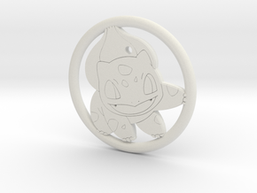 Bulbasaur yoyo in White Natural Versatile Plastic