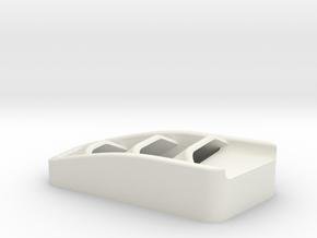 Hood Vent Pass for Vanquish Products Ripper in White Premium Versatile Plastic