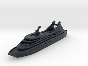 Miniature Seabourn Legend Ship (Star Legend) -10cm in Black Professional Plastic