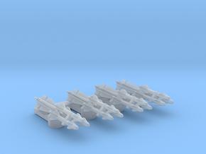Omni Scale General Type-III Multi-Warhead Drones in Smooth Fine Detail Plastic