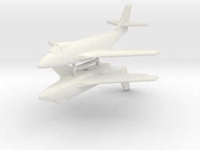 1/285 (6mm) McDonnell XF-88 (x2) in White Natural Versatile Plastic