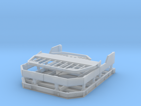 Meng 1/35 F350 truck bed in Smooth Fine Detail Plastic
