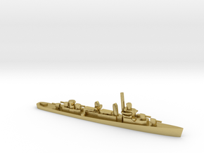 US Fletcher-class Destroyer in Natural Brass