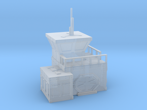 Sci Fi military outpost / small in Smooth Fine Detail Plastic