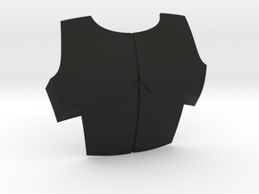 Sideshow ARC Chest Plate in Black Natural Versatile Plastic