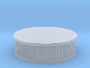 air filter round 1/10 in Smooth Fine Detail Plastic