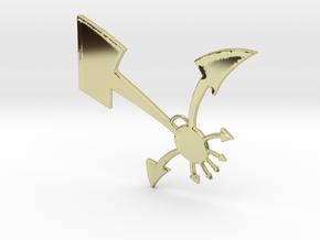 ChaoSphere Long range in 18k Gold Plated Brass