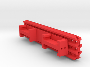 Sand Ladders with mounts and template in Red Processed Versatile Plastic