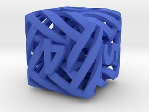 Helix Die6 in Blue Processed Versatile Plastic