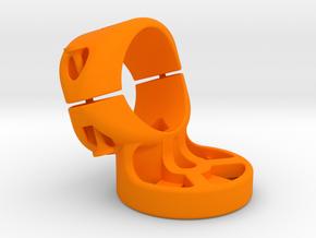 27.2 mm Garmin Varia/Edge Mount in Orange Processed Versatile Plastic