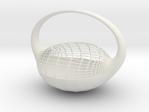 Vase 822CSN in White Natural Versatile Plastic